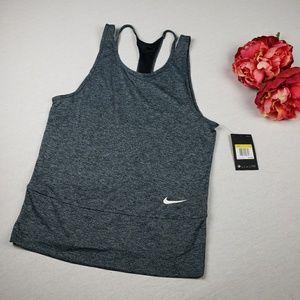 Nike Dri Fit Athletic Tank Top SZ S Women's Gray